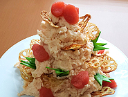 明太子の和サラダ