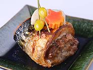 鯖の包み焼き