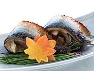 秋刀魚の幽庵焼き